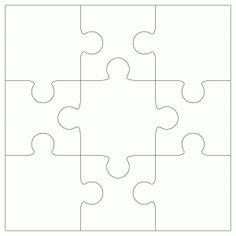 Iiii clipart piece jigsaw Template Jigsaw Crafts ClipArt by
