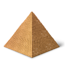 Ancient clipart great pyramid #6