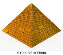 Drawn pyramid clipart And Pyramid royalty Pyramid Clip