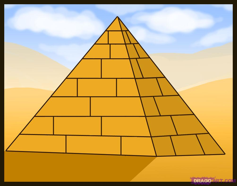 Drawn pyramid egyptian pyramid Of Download Clipart Clipart Clipart
