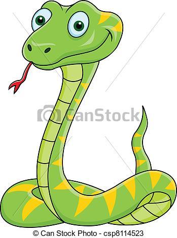 Anaconda clipart green snake  and illustration Art 1