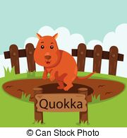 Quokka clipart Penguin in Illustrator Vector of