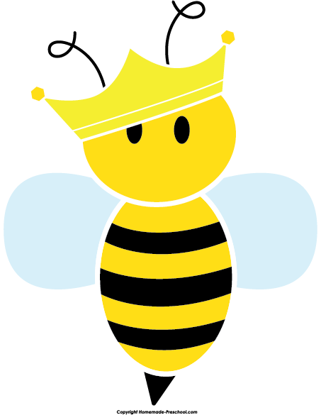 Bee clipart queen bee 2015 rights reserved JOANINHAS All