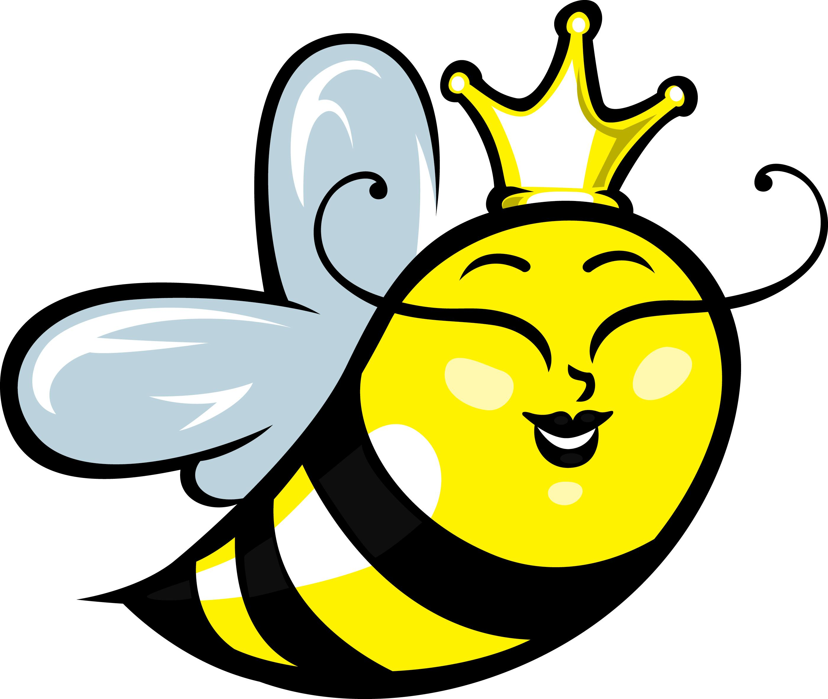Queen clipart animated Illustration Clipart Animated  bee