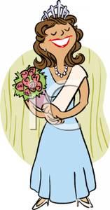 Queen clipart beauty queen A A Beauty Clipart Winning