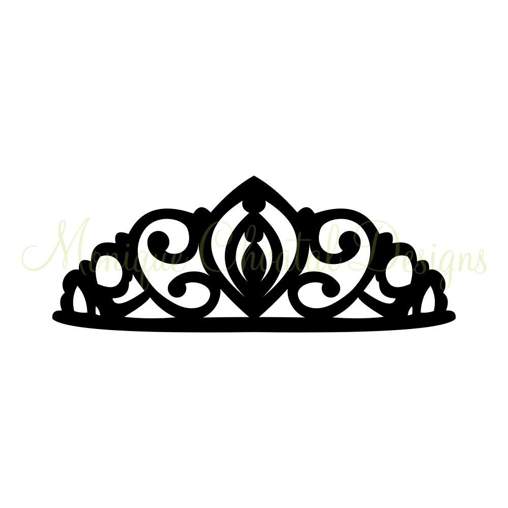 Black clipart tiara  And Panda Crown White