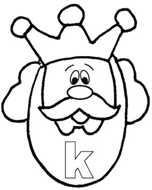 Queen clipart colouring page Panda King And Images Pages
