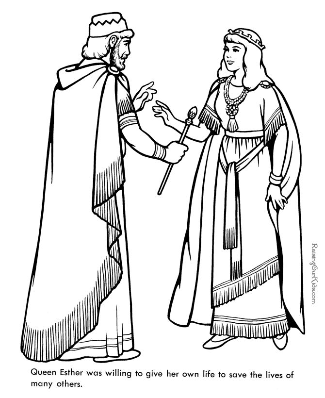 Queen clipart colouring page 322 Pinterest Ester on Bible