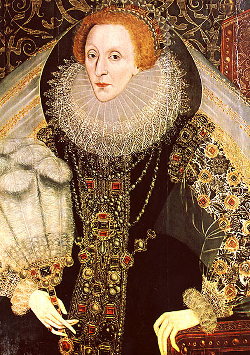 Queen clipart elizabeth the first The Elizabeth Bettes Queen 1573