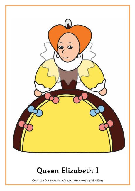 Queen clipart elizabeth the first #11