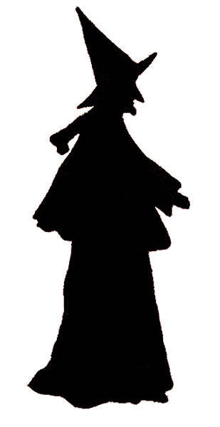 Shadows clipart witch Panda Witch Clipart Witch Clip