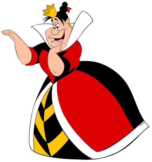 Queen clipart hearts clipart Waving Queen Clip King