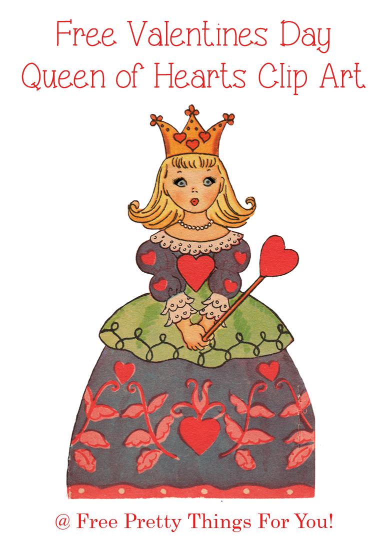Queen clipart hearts clipart #13