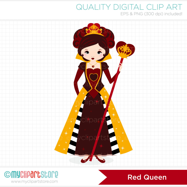 Queen clipart hearts clipart #6