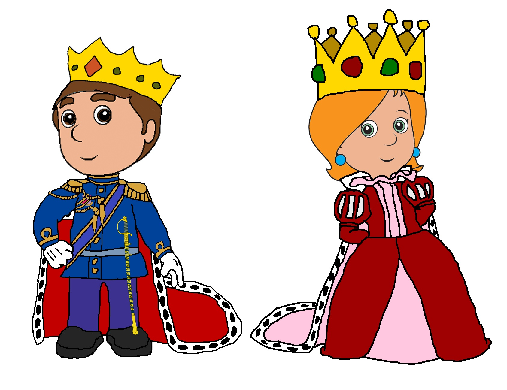 Hearts clipart king and queen Clipart queen king BBCpersian7 and