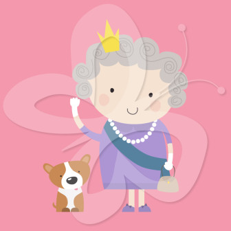 Queen clipart london Clipart London The Archives her