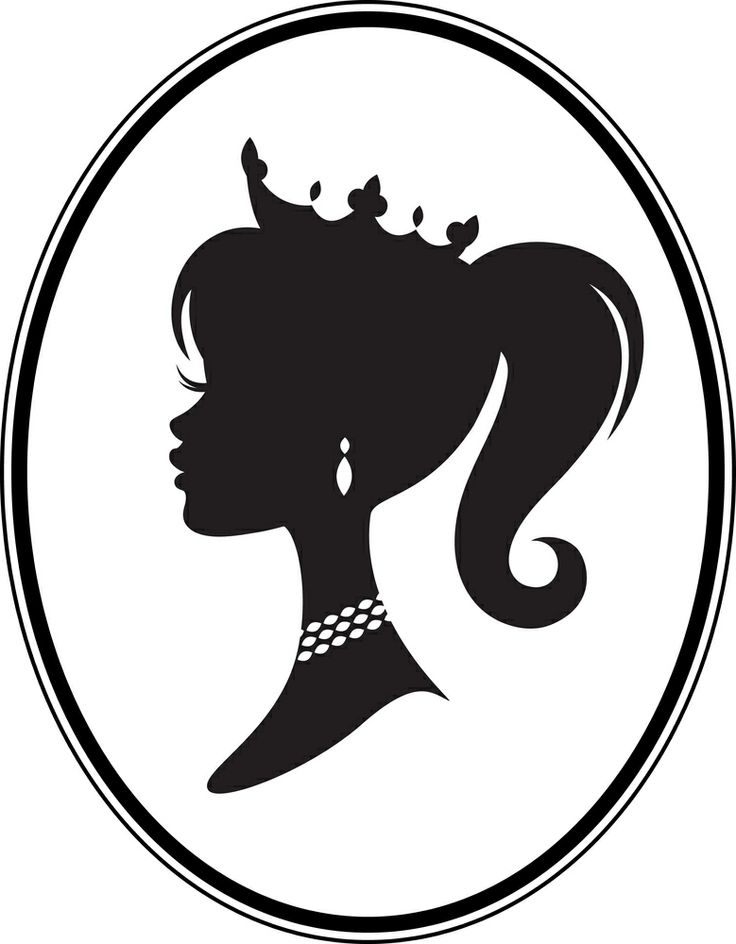 Barbie clipart for kid Pageant Silhouette silhouette photo#24 crown