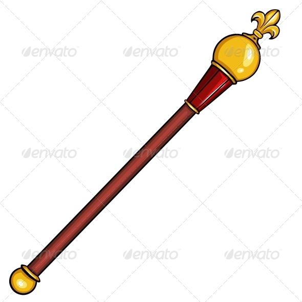 Queen clipart scepter #11