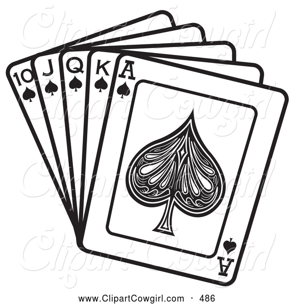 Queen clipart spades And of Hand King Clipart
