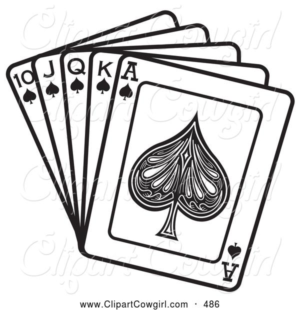 Queen clipart spades #13