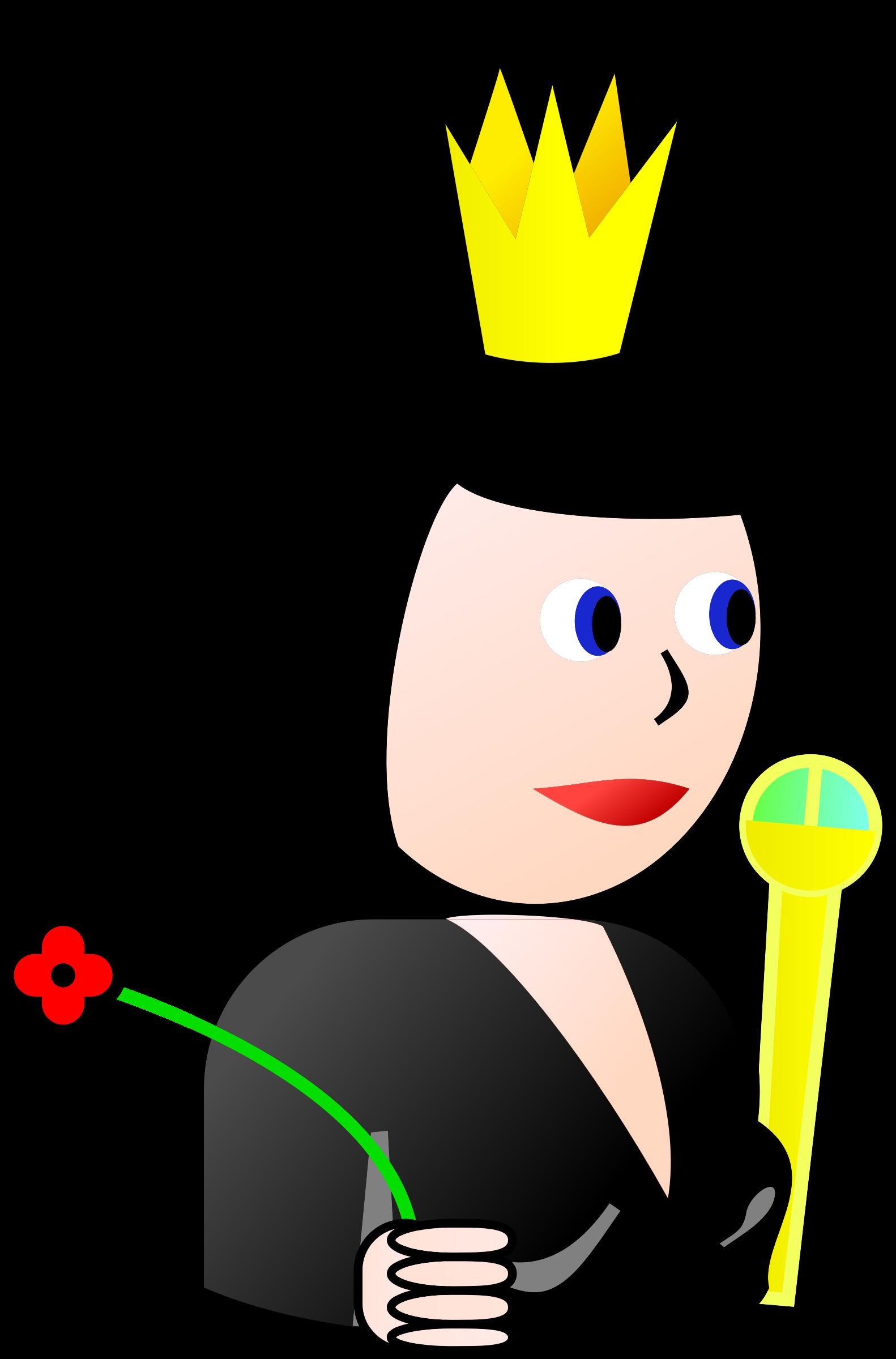 Queen clipart spades #12