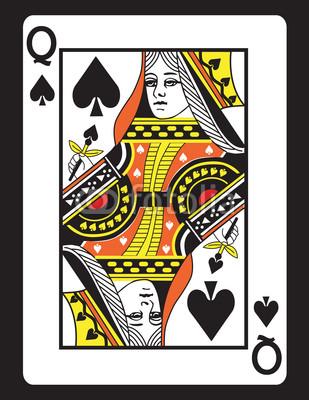 Queen clipart spades #1