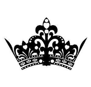Black clipart tiara Birthday collection printables queen clip