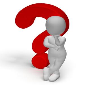 Question Mark clipart bunch Vectors Subscription Man  Royalty