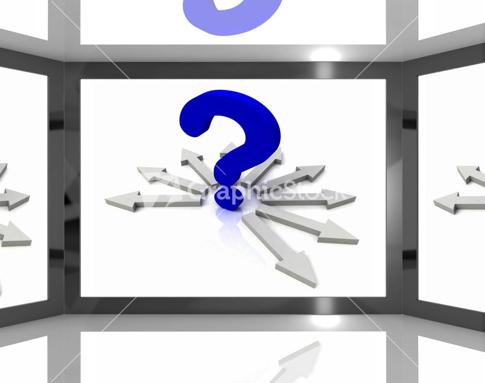 Question Mark clipart bunch Vectors Subscription Screen  Royalty