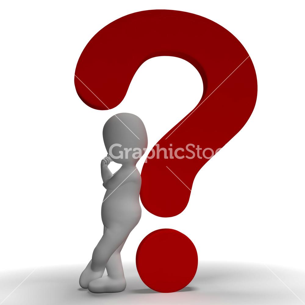 Question Mark clipart bunch Question Uncertain Mark 3d Marks
