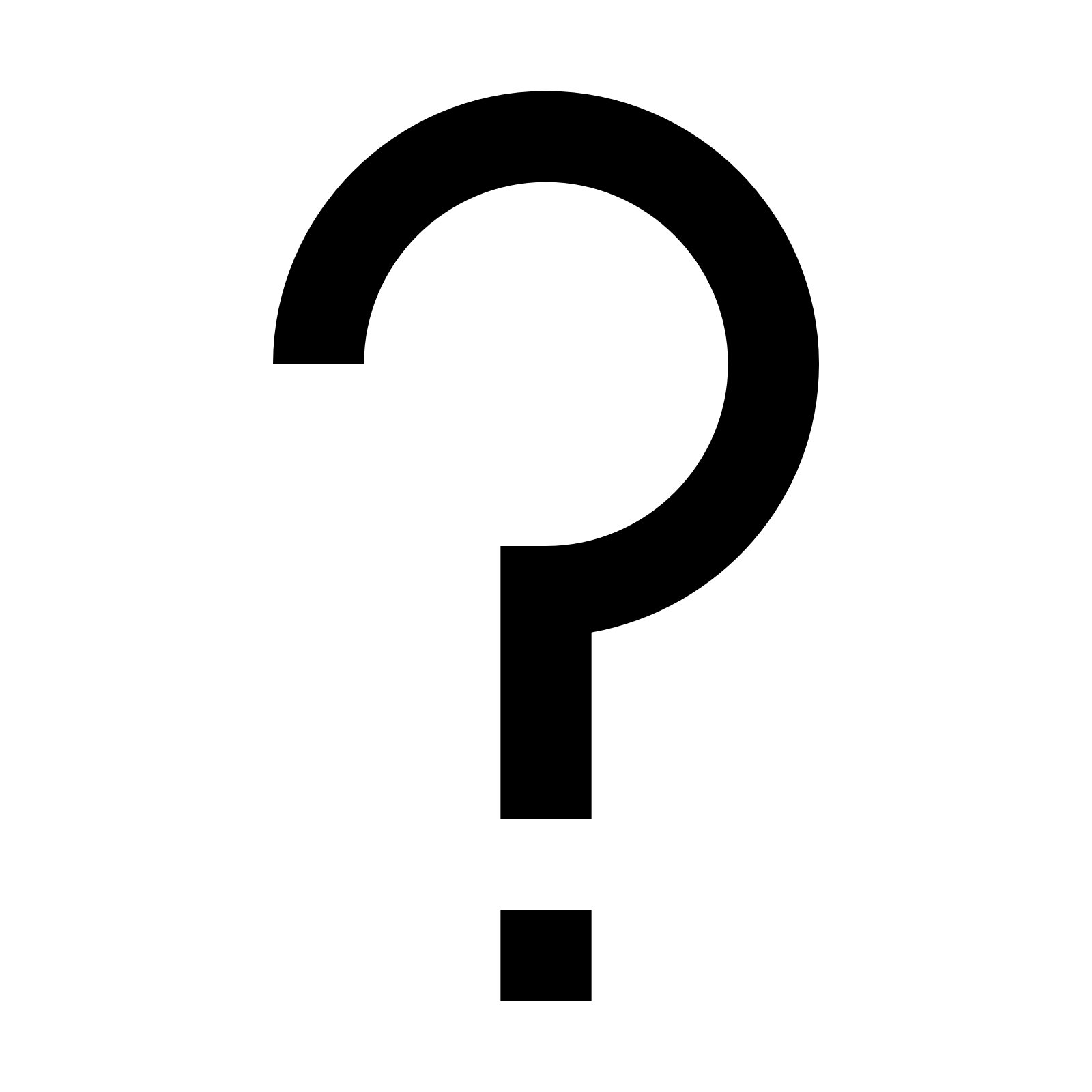 Question Mark clipart problem statement At Free Question Mark Icons8