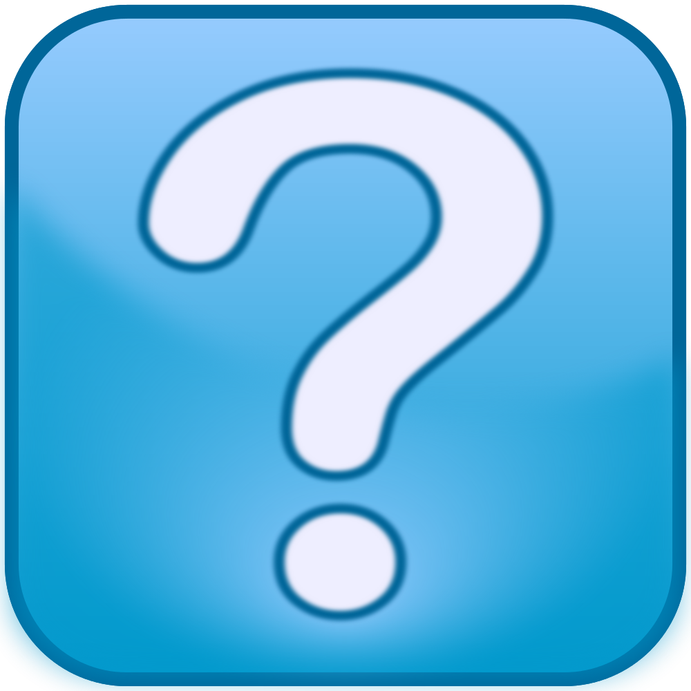 Question Mark clipart problem statement Box Icon File:Question Blue Mark