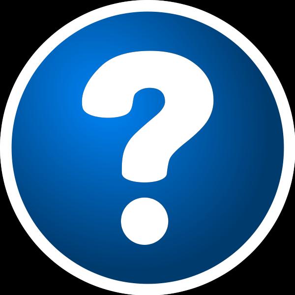 Question Mark clipart questin #6