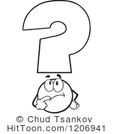 Question Mark clipart thought And Thought White Larger Preview