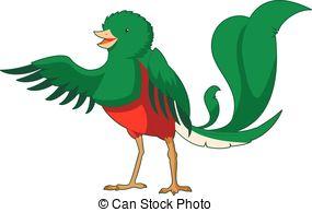 Quetzal  clipart Quetzal clipart Cartoon Images smiling