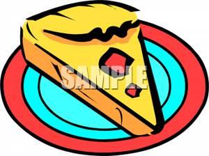 Quiche clipart Clipart on of Slice Quiche
