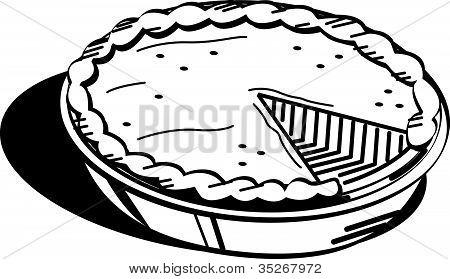 Quiche clipart Pie%20clipart%20black%20and%20white Black White Panda Clipart