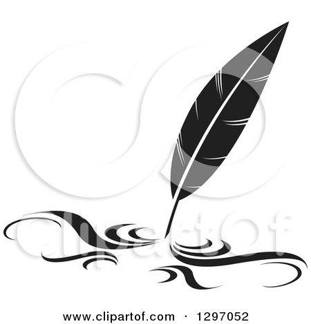 Pen clipart leaf Art Quill Clipart images Pen