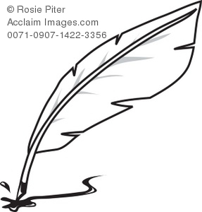 Quill clipart Writing Quill Writing Clipart Clipart