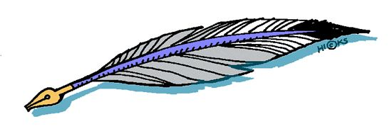 Wiccan clipart feather quill Quill Cliparts Zone pen Cliparts
