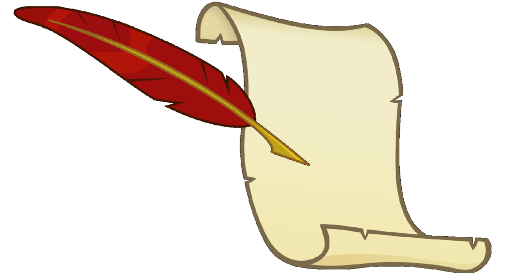Quill clipart book #8