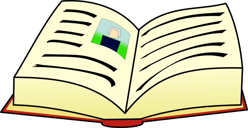 Quill clipart book #10