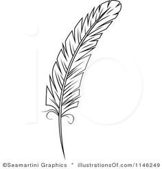 Wiccan clipart feather quill Images Search peacock download best