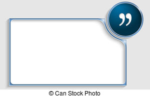 Quote clipart Clipart vector Art  EPS