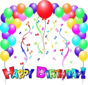 Balloon clipart happy birthday Images Art Art Clip Birthday