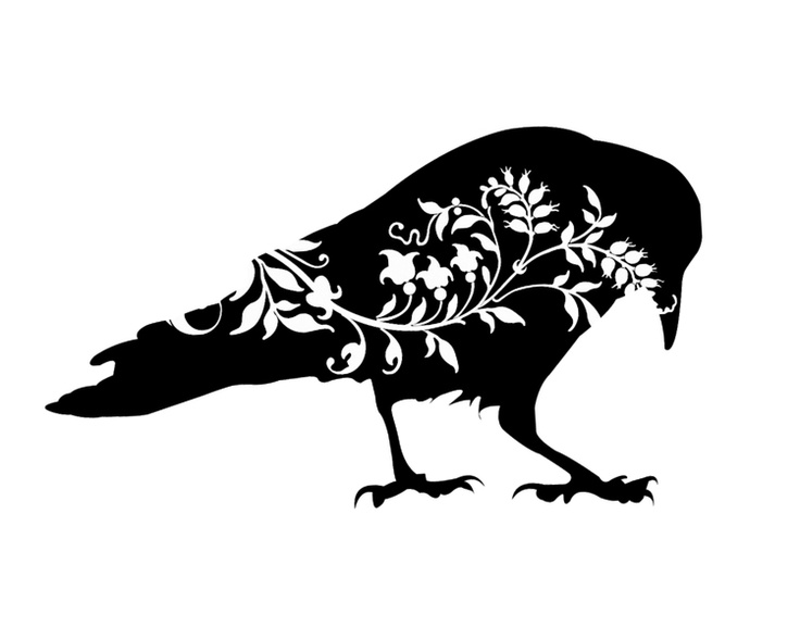 Quoth clipart black and white And nevermore Quoth raven raven