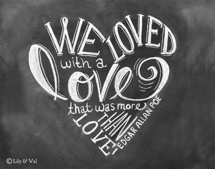 Quoth clipart chalk Allan Love ideas art Poe