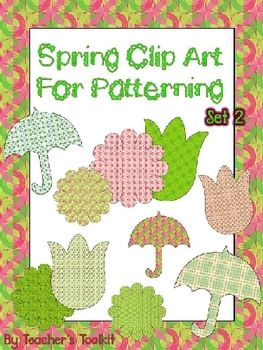Quoth clipart commercial Art images Commercial Spring Set