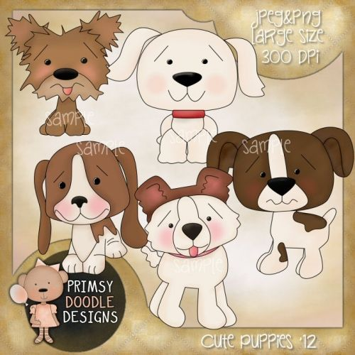 Quoth clipart doodle Art Puppies art on about