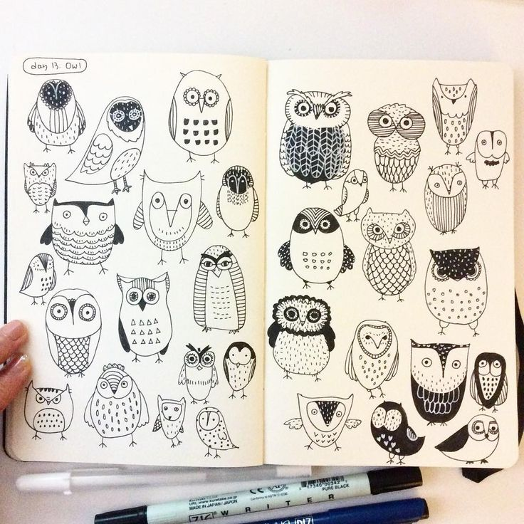 Quoth clipart doodle Best on Owl #creativebug images